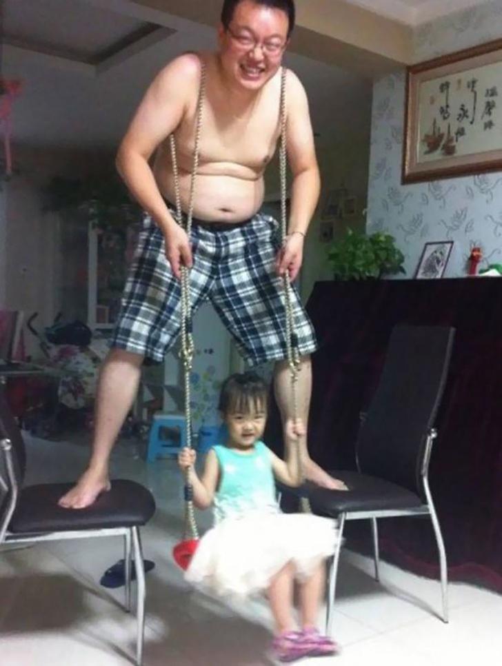 Babalarıyla Çocukları Yalnız Bırakmayacağımızı Kanıtlayan 11 Baba 10