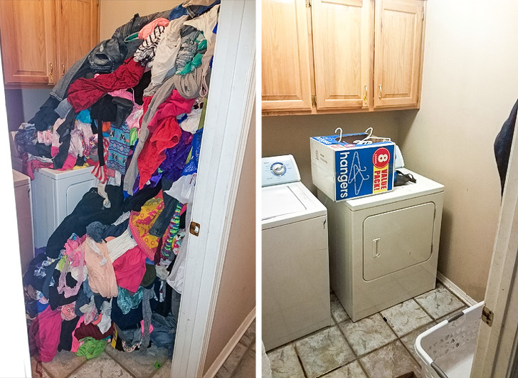 Temizlik hastası kişilerin için ferahlatan öncesi ve sonrası fotoğraflar 11