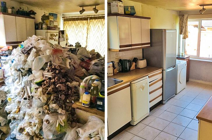 Temizlik hastası kişilerin için ferahlatan öncesi ve sonrası fotoğraflar 14