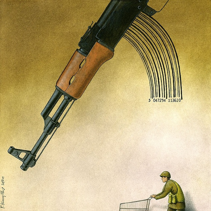Polonyalı Sanat Pawel Kuczynski Yaşadığımız Sahte Dünyayı Gösteren Resimleri 3