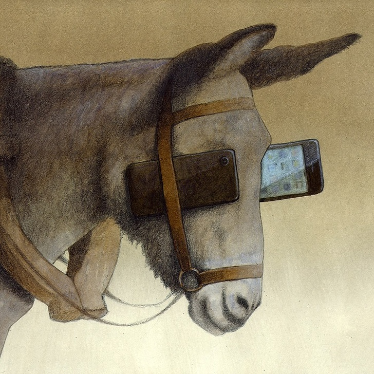 Polonyalı Sanat Pawel Kuczynski Yaşadığımız Sahte Dünyayı Gösteren Resimleri 5