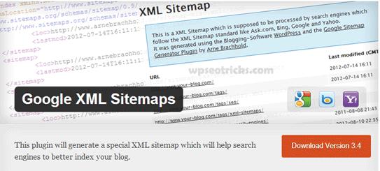 Google XML Site Haritaları