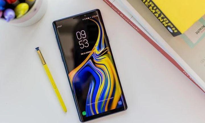 10.Samsung Galaxy Not 9