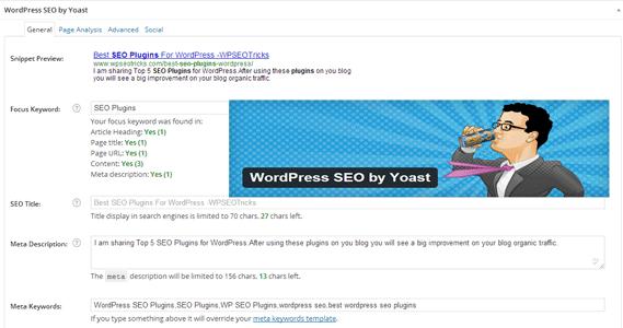 WordPress SEO ByYoast