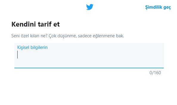 Şirketiniz için Twitter kurumsal hesap açma 5