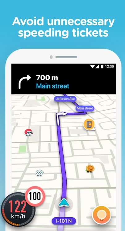 Waze Harita Navigasyon harita trafik navigasyon uygulaması