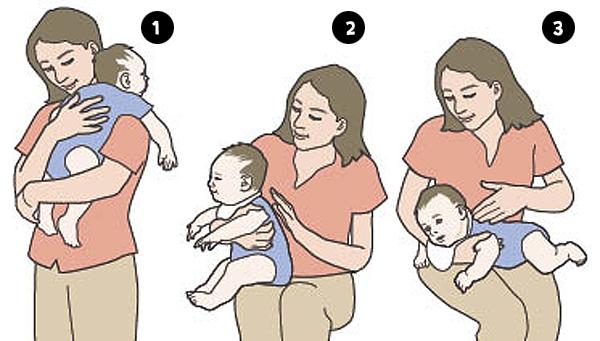 Bebek gaz çıkarma teknikleri