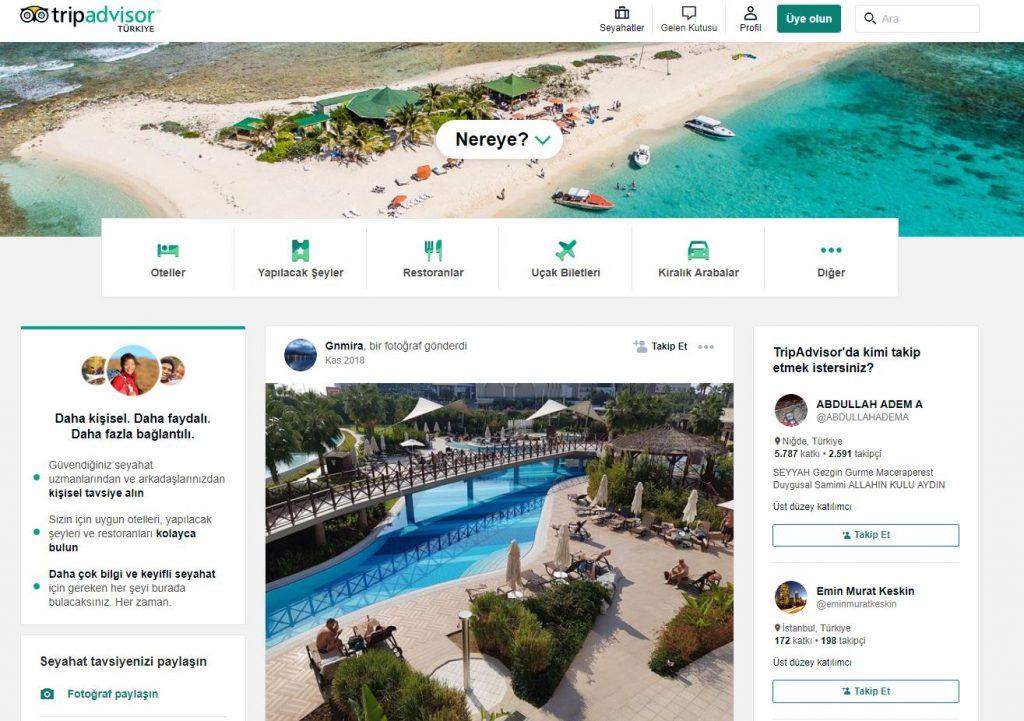 Tripadvisor Tatil ve seyahatler için tarafsız otel yorumları