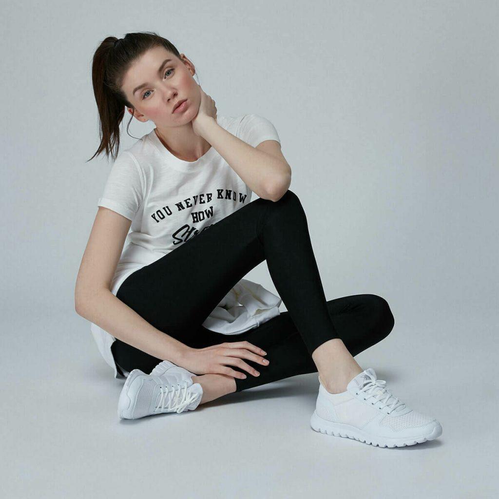Kinetix - Capella W Beyaz Kadın Koşu Ayakkabısı