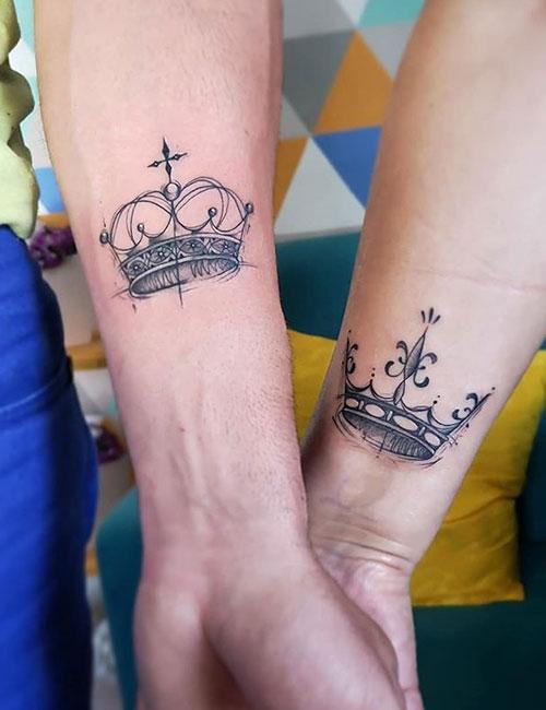 Kral ve Kraliçe Dövmesi