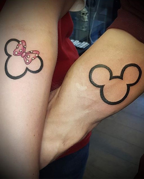 mickey mouse ve minnie mouse