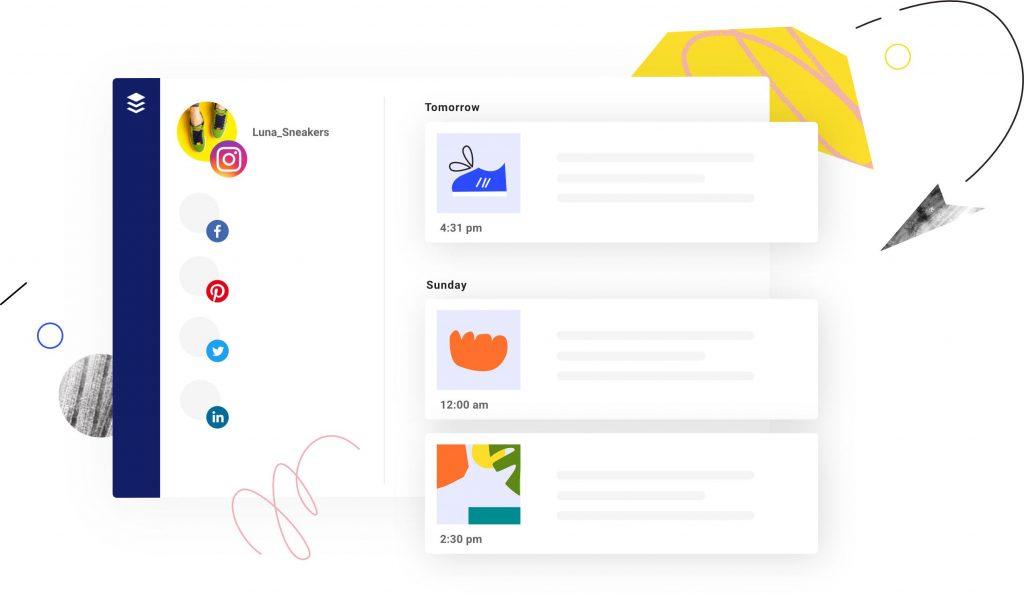 Buffer sosyal medya yönetimi platformu