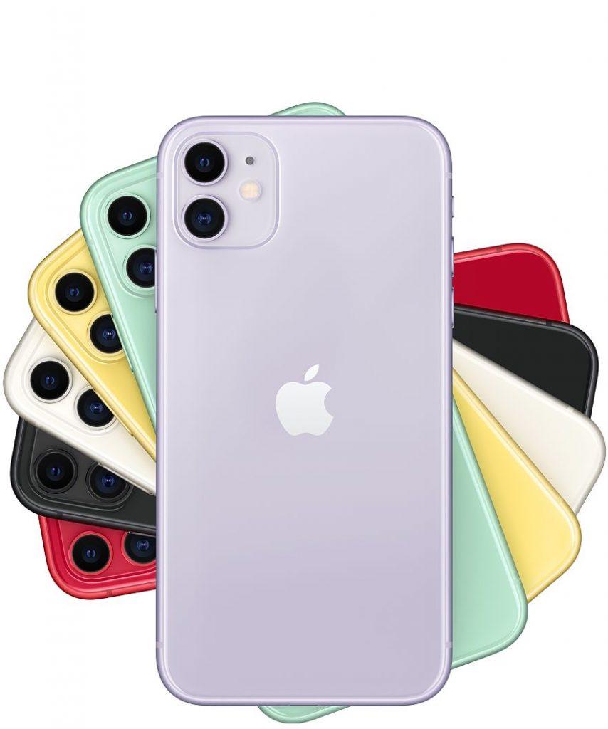 iPhone 11 renk skalası