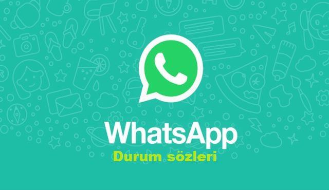 Whatsapp durum sözleri, 2019