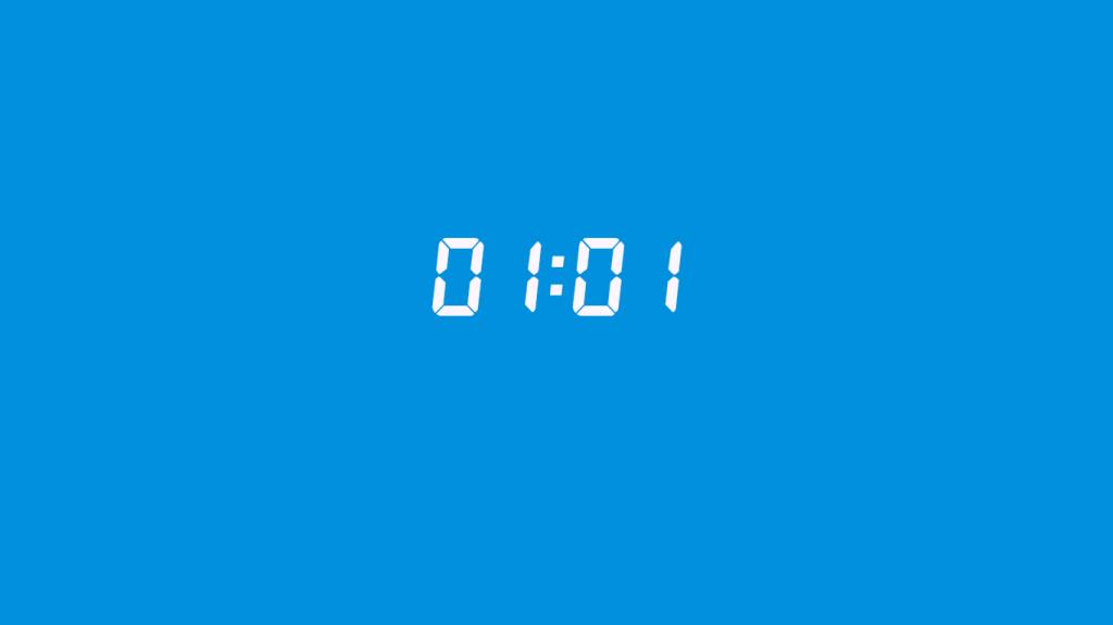 01: 01 saatin anlamı