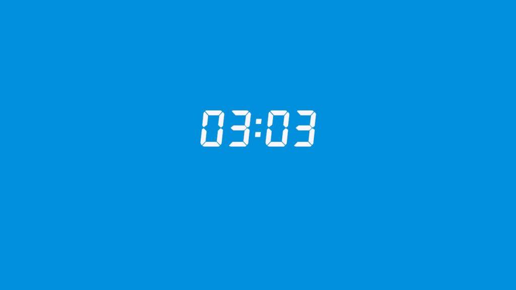 03:03  saatin anlamı