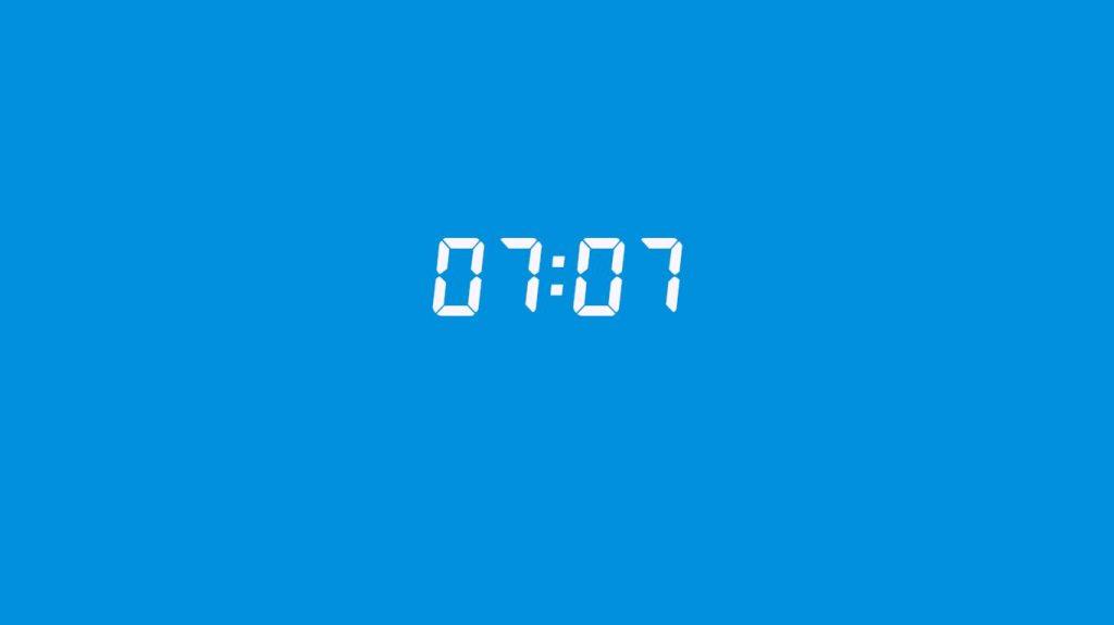 07:07 saatin anlamı