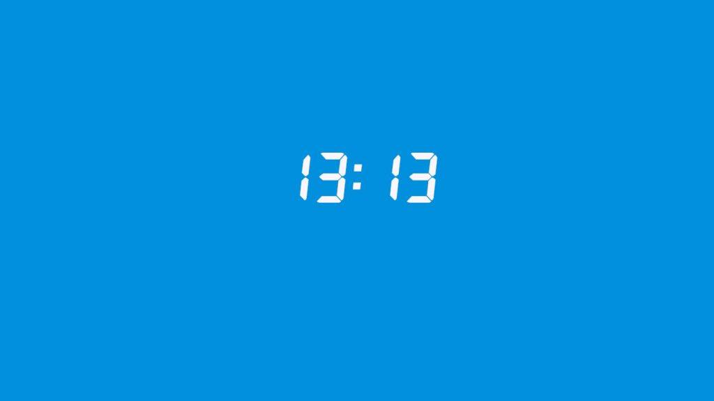 13:13 saatin anlamı