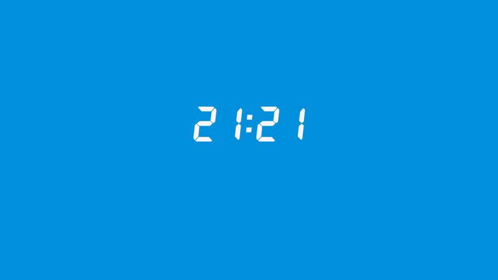 21:21 saatin anlamı