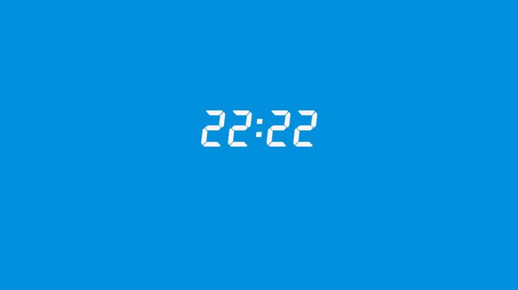 22:22 saatin anlamı