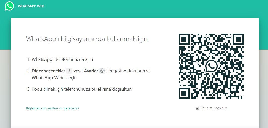 Whatsapp Web nedir nasıl kullanılır 1