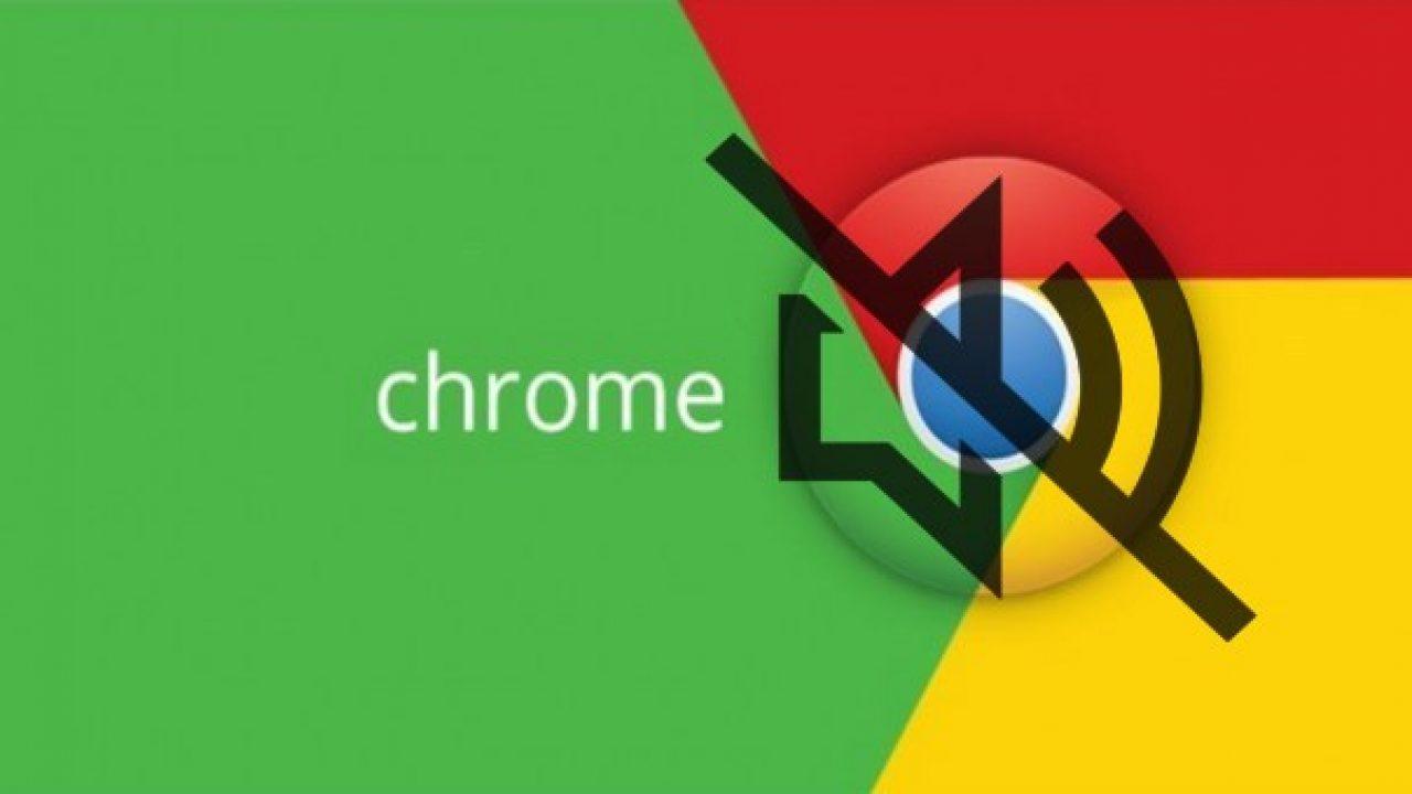 Chrome sekmenin sesini kapatma [Çözüm] 1