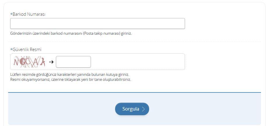 e-Devlet üzerinden PTT kargo takibi