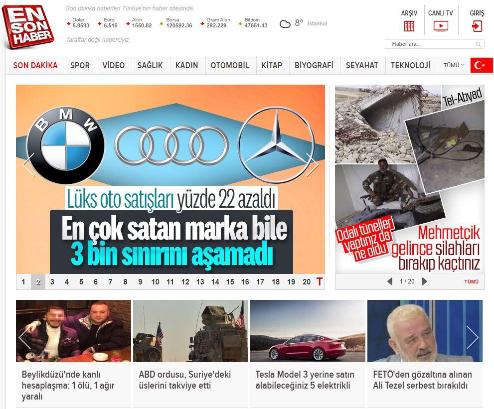En iyi haber siteleri:Türkiye sıralaması 2