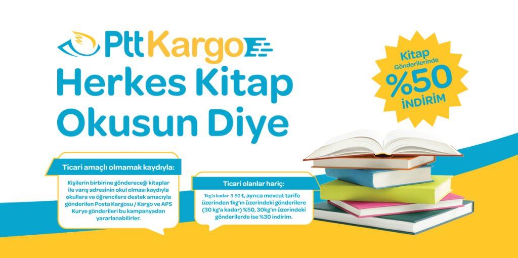 PTT Kitap gönderim kampanyası