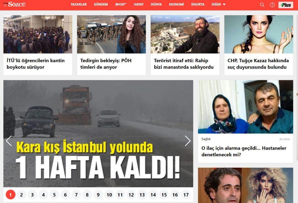 En iyi haber siteleri:Türkiye sıralaması 4