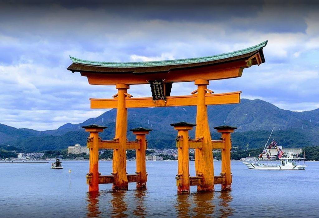 Itsukuşima Tapınağı Japonya