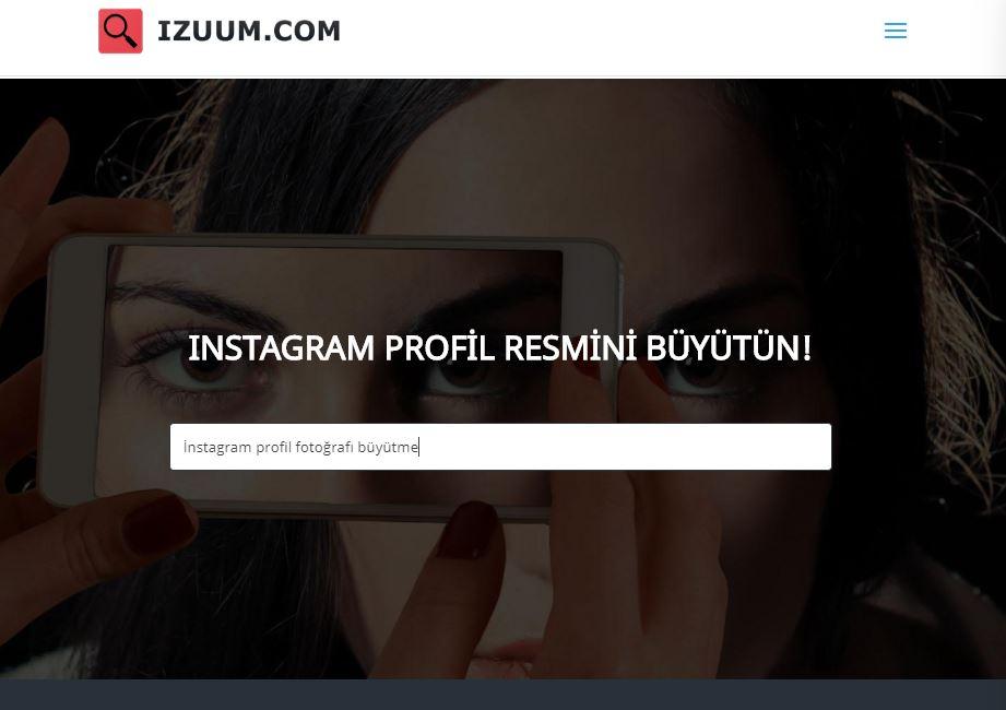 Instagram profil fotoğrafı (pp) büyütme: Profil - paylaşım 2